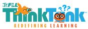 Jr. FLL THINK TANK logo
