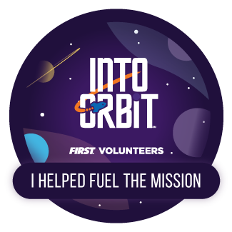 Fuel the Mission electronic badge - INTO ORBIT