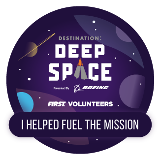 Fuel the Mission electronic badge - DESTINATION DEEP SPACE