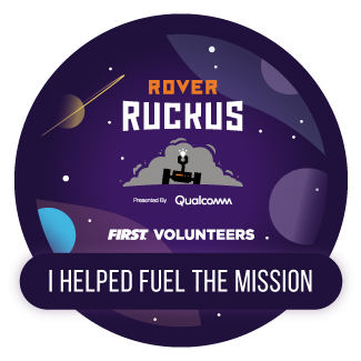 Fuel the Mission electronic badge - ROVER RUCKUS