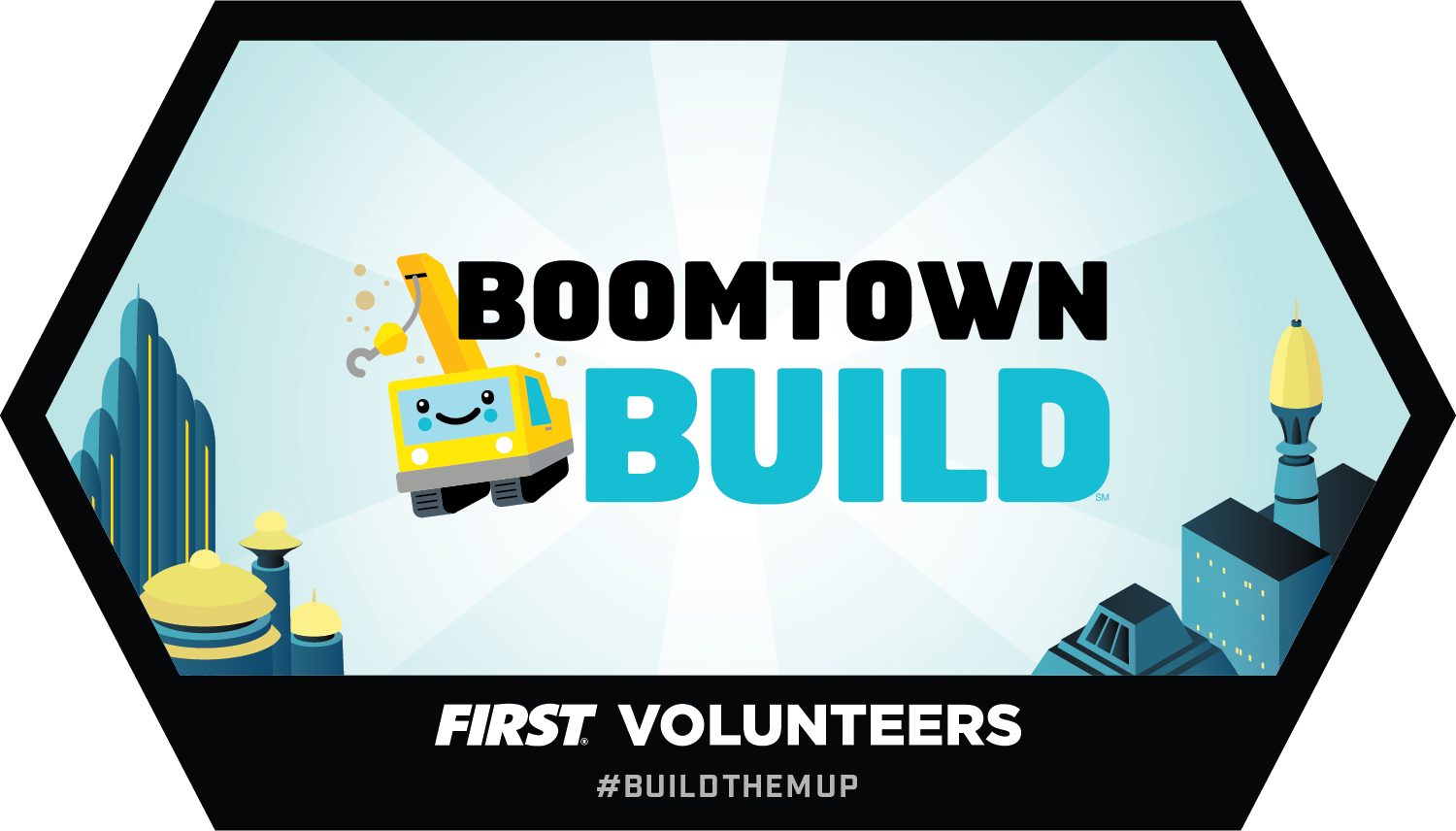 Build Tomorrow badge - BOOMTOWN BUILD
