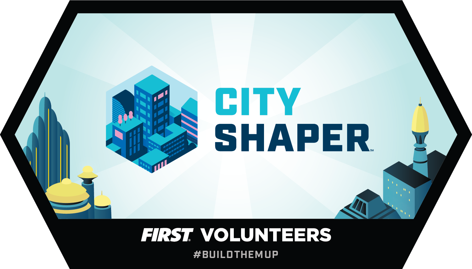 Build Tomorrow badge - CITY SHAPER