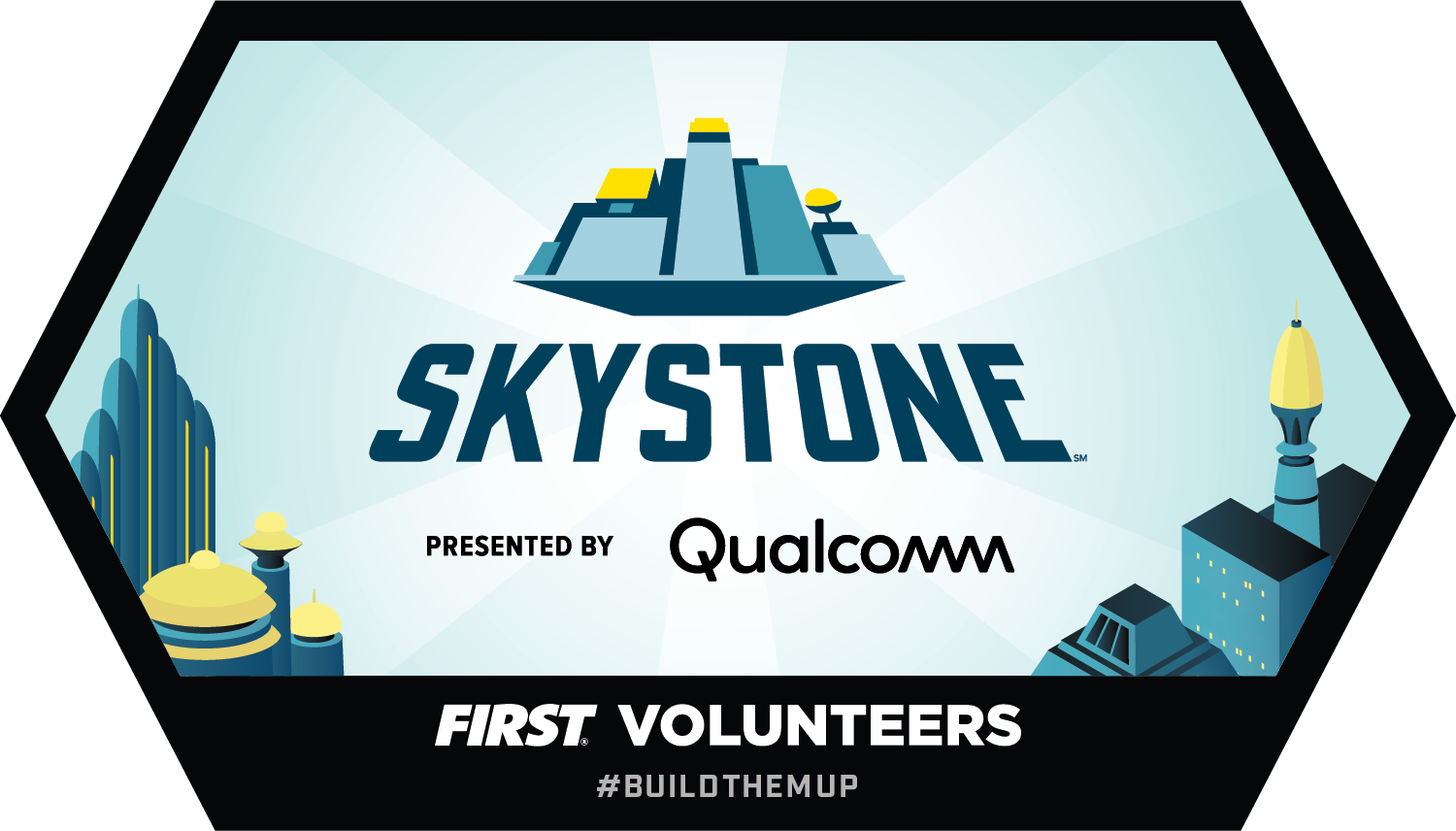 Build Tomorrow badge - SKYSTONE